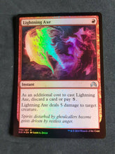 Load image into Gallery viewer, Lightning Axe Shadows Over Innistrad Foil #170