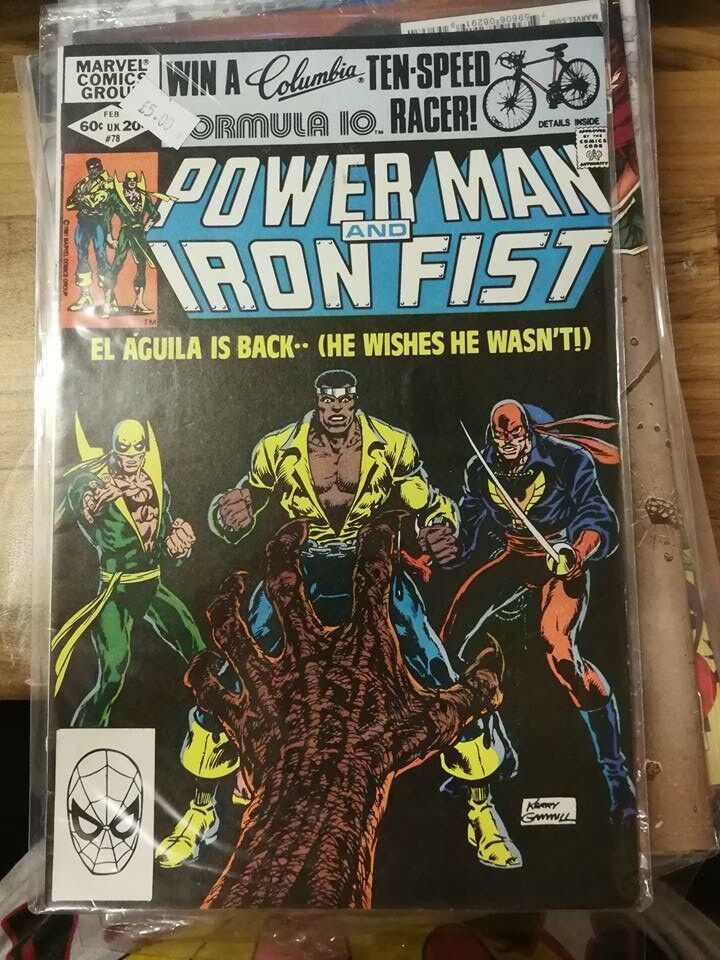 Power Man and Iron Fist #78