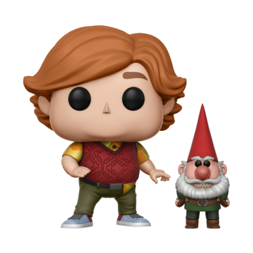 Troll Hunters Toby with Gnome Pop Figure