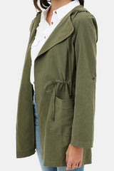 CASSIDY Hoodie Jacket (Olive)