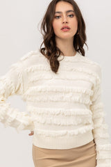ERMA Plush Sweater (Ivory)