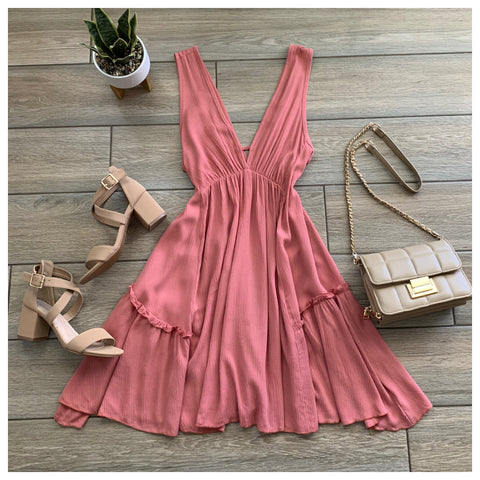 CAMILLE Dress (Rose)