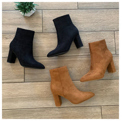 BRAZIL Boot (Suede Black)