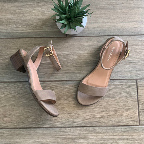 REGINA Taupe Sandal sizes 5.5 only