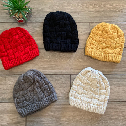 Knit BEANIES (5 Colors)
