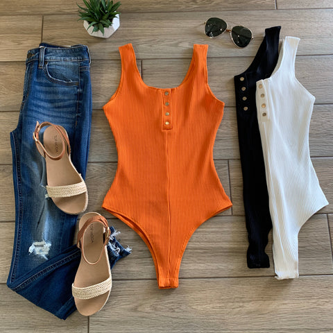 KIPSY Ribbed Bodysuits (3 Colors)