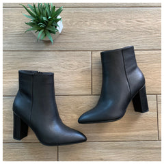 BRAZIL Boot (Black Leather)