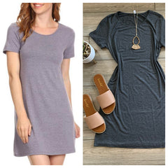 JOLIE Tee Dress (3 Colors)