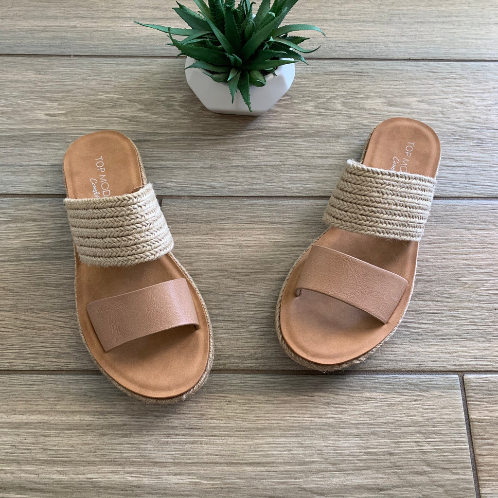NICO Sandals (Nude) sizes 9 & 10 Only