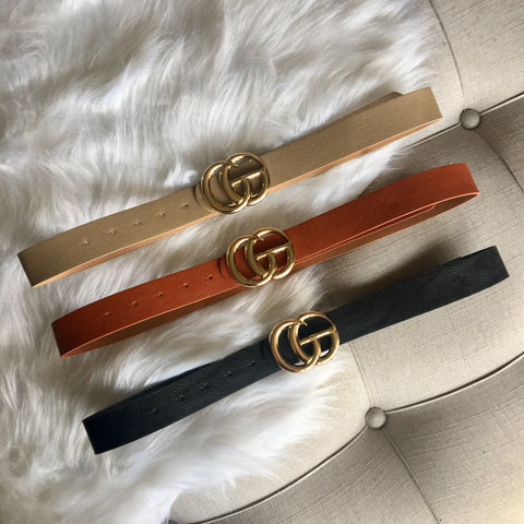 G Belts (3 Colors)