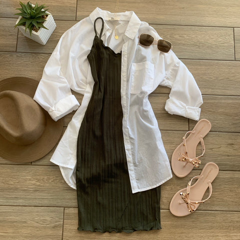 COCO Olive Dress