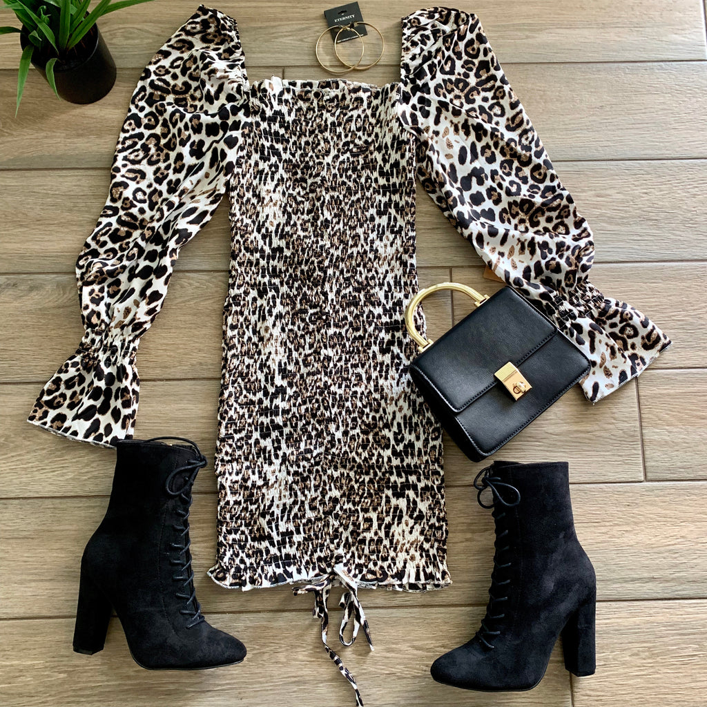 BIANCA Leopard Dress