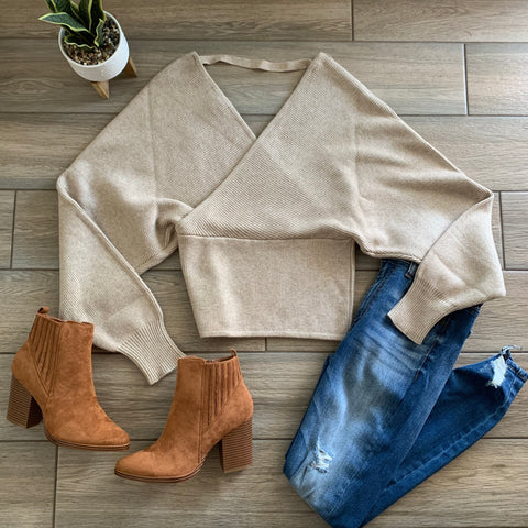 JACKLYN Sweater (Nude) size S-XL