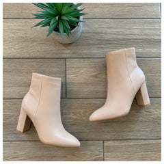 BRAZIL Boot (Nude Leather)