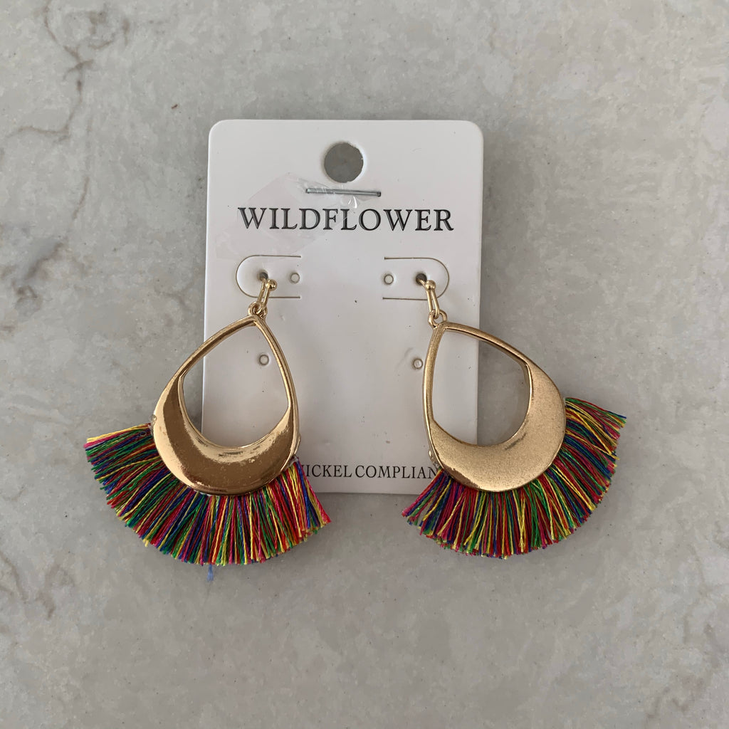 Multi Whispy Earrings