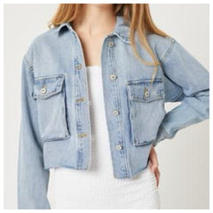 Dena Denim Jacket (Blue)