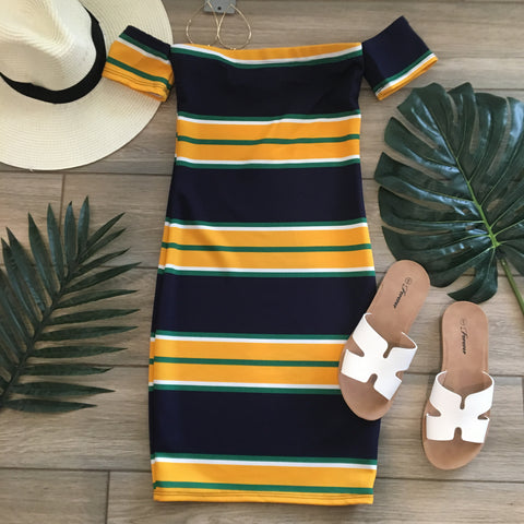GINGER Stripe Dress
