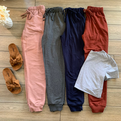 EVERYDAY Joggers (TERRACOTTA size LARGE Only