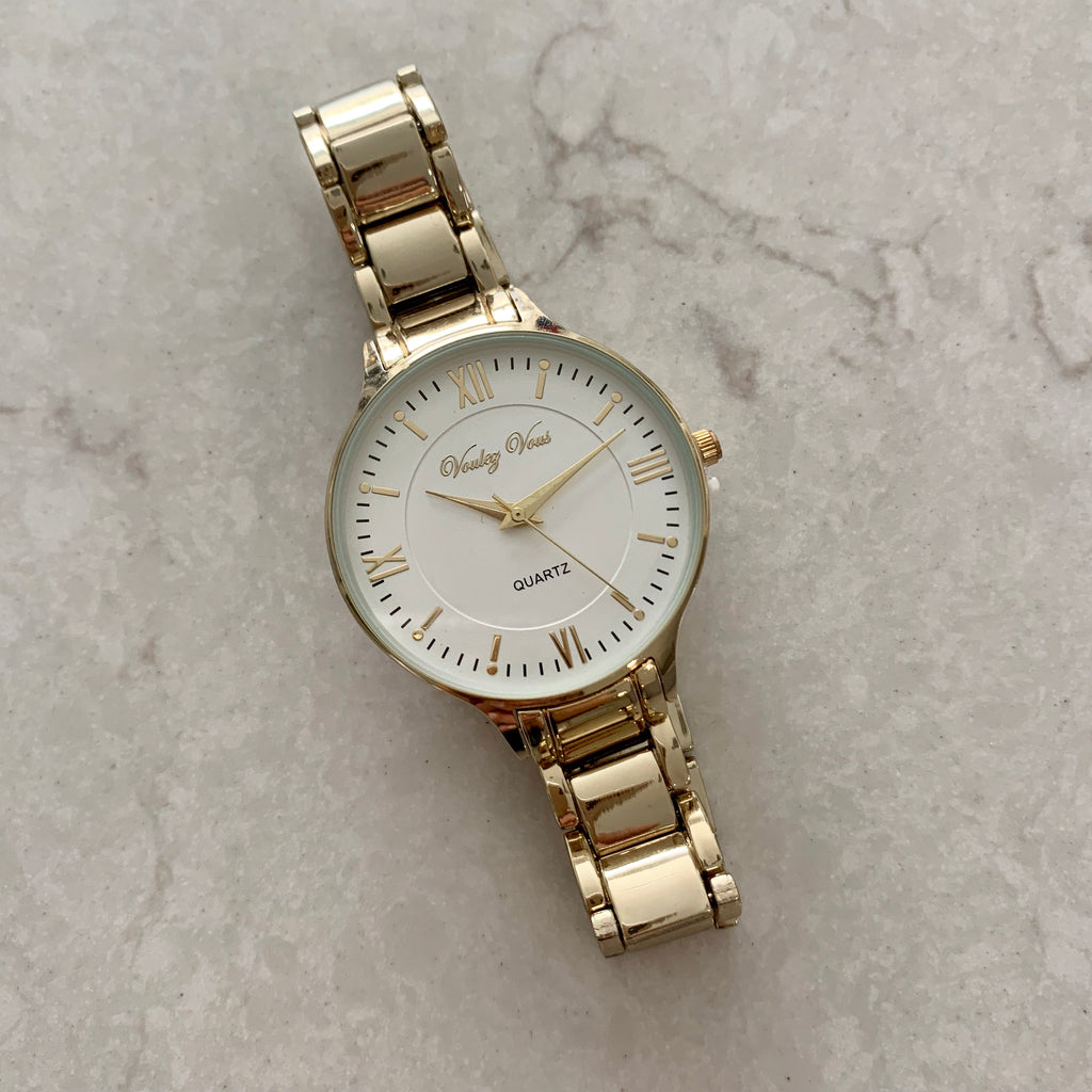 Mona Gold watch
