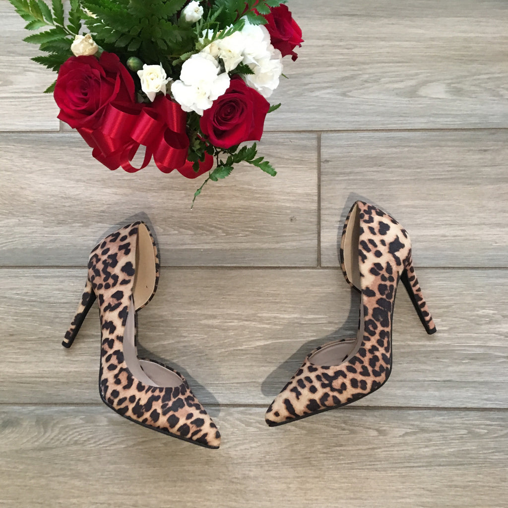 ZUMBA Leopard Pumps Size 10 ONLY