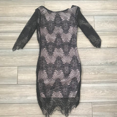 Lacey Lace Dress (SMALL)