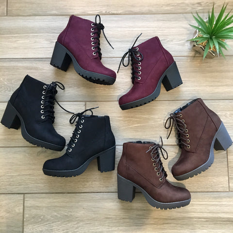 TIMBERLIN Boots (3 Colors)