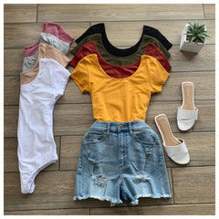 JAN TEE Bodysuit (8 COLORS)