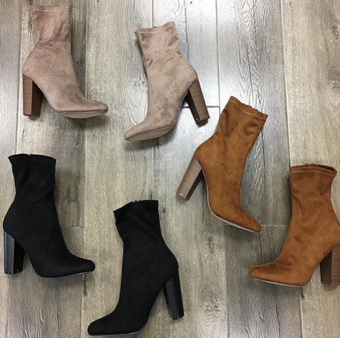 RENEE BOOTS (3 Colors) 9 & 10 ONLY