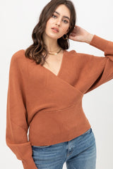 JACKLYN Sweater (Rust) sizes S-XL