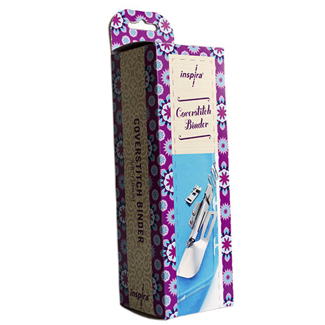Pose biais triple pli INSPIRA® - Coverstitch Binder -