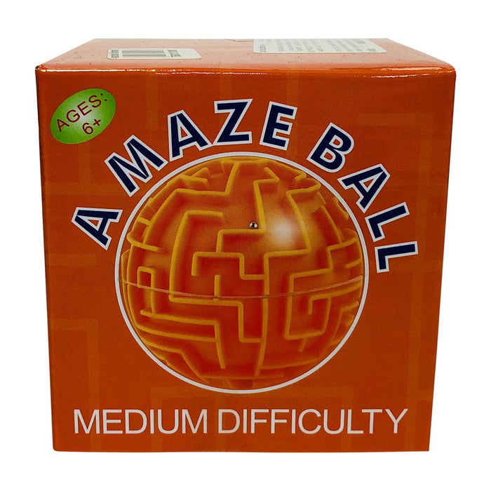 Amazeball laberinto naranja media