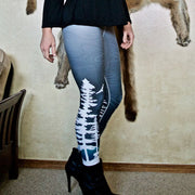 SnowVember Deer - Leggings