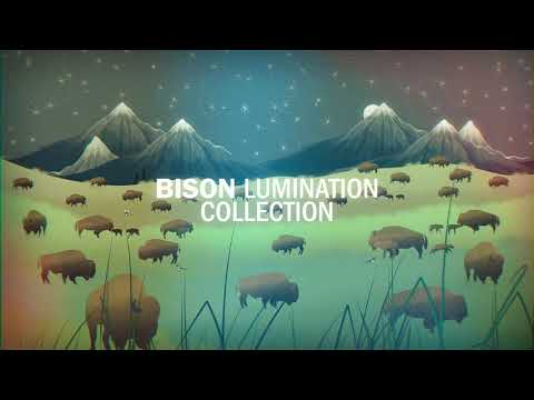 Bison Lumination - Neck Gaiter
