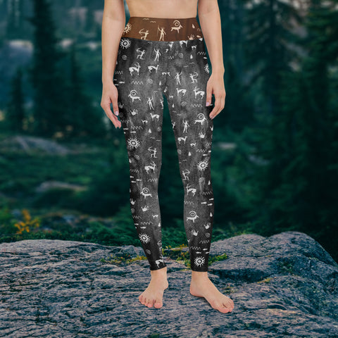 Primitive Press in Ash - Leggings
