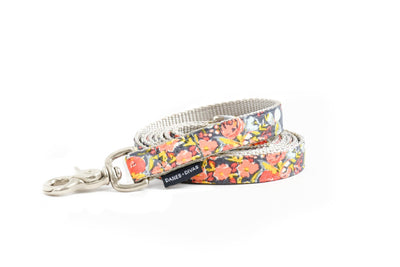 Autumn Floral Dog Leash Danes & Divas