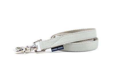 BESPOKE | Light Sage Luxury Linen Dog Leash Danes & Divas