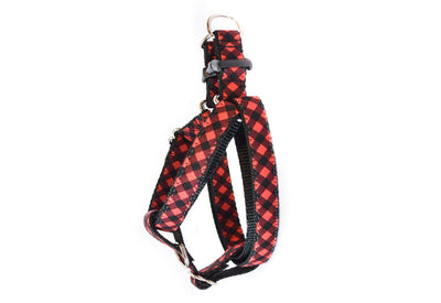 Buffalo Plaid Dog Harness Danes & Divas