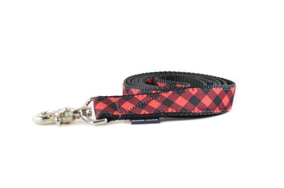Buffalo Plaid Dog Leash Danes & Divas