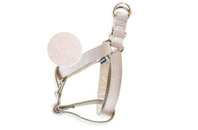 Creamrose Metallic Pearl Dog Harness Danes & Divas