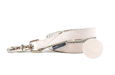 Creamrose Metallic Pearl Dog Leash Danes & Divas