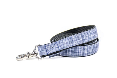 Faux Chambray Linen Premium Canvas Leash Danes & Divas