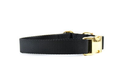 Nude Essentials Dog Collar - Black Danes & Divas