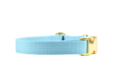 Nude Essentials Dog Collar - Canal Blue Danes & Divas