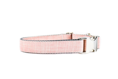 Rose Linen Blend Dog Collar Danes & Divas