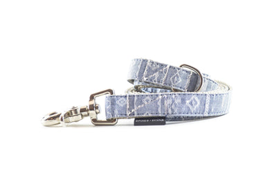 Southwest Chambray Dog Leash Danes & Divas