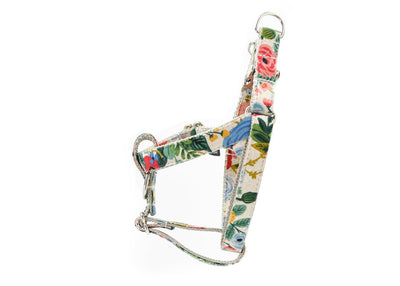 Wildwood Floral Canvas Dog Harness Danes & Divas