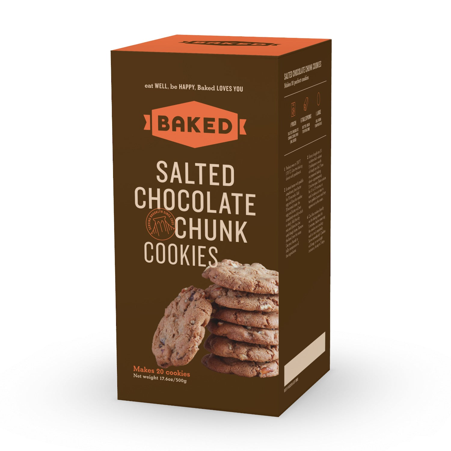 Salted Chocolate Chunk Cookie Mix