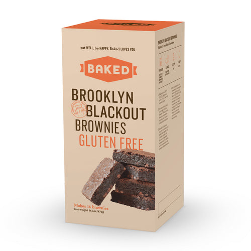 Gluten Free Brooklyn Blackout Brownie Mix