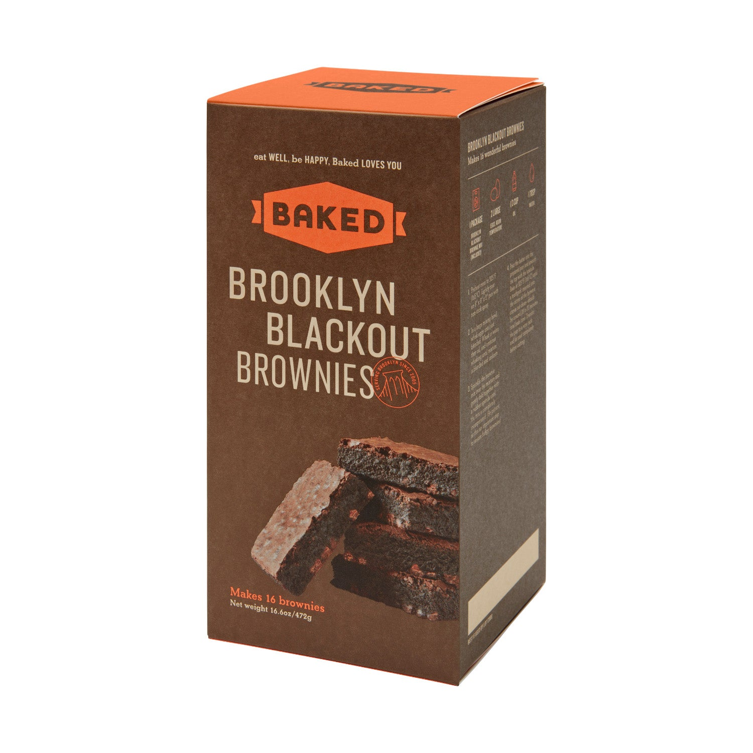 Brooklyn Blackout Brownie Mix
