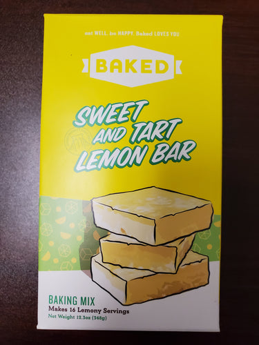 Sweet & Tart Lemon Bar